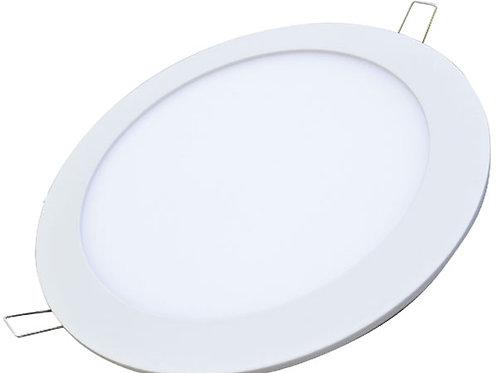 Luminaria circular a led de embutir - 20W luz Día