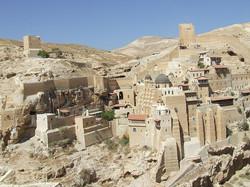 Монастырь Мар-Саба в Иудейской Пусты