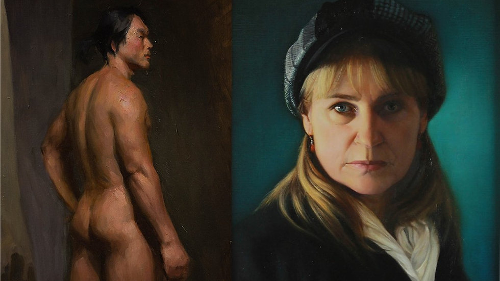 Friday Portrait/Figure Class (Mornings Only)