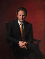 Portrait of John Maffey, Former Headmaster of Sydney Grammar St Ives
