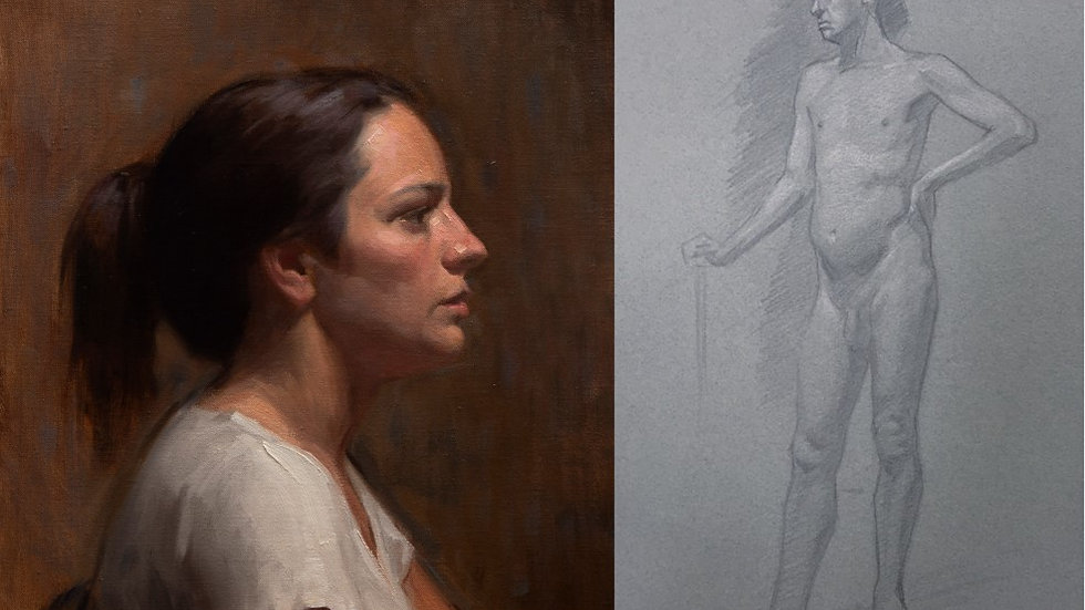 Wednesday Life Painting and Drawing Fundamentals (Full Day)