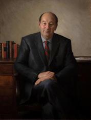 Portrait of Bryan Pennington, Former Headmaster of Sydney Grammar St Ives