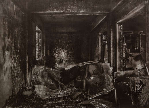Black House#10_78X106cm_Van Dyke Brown P