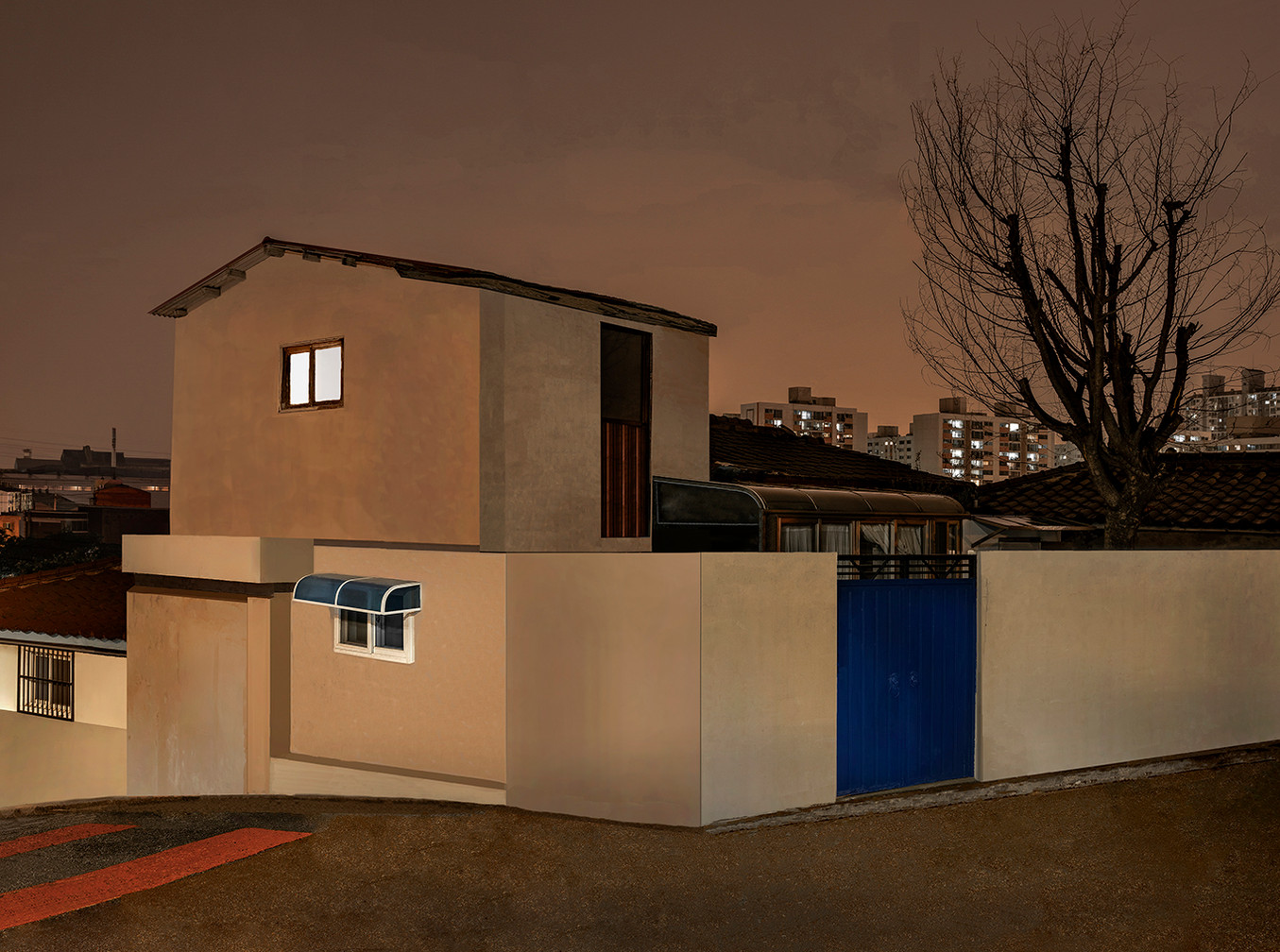 The Houses at Night #36