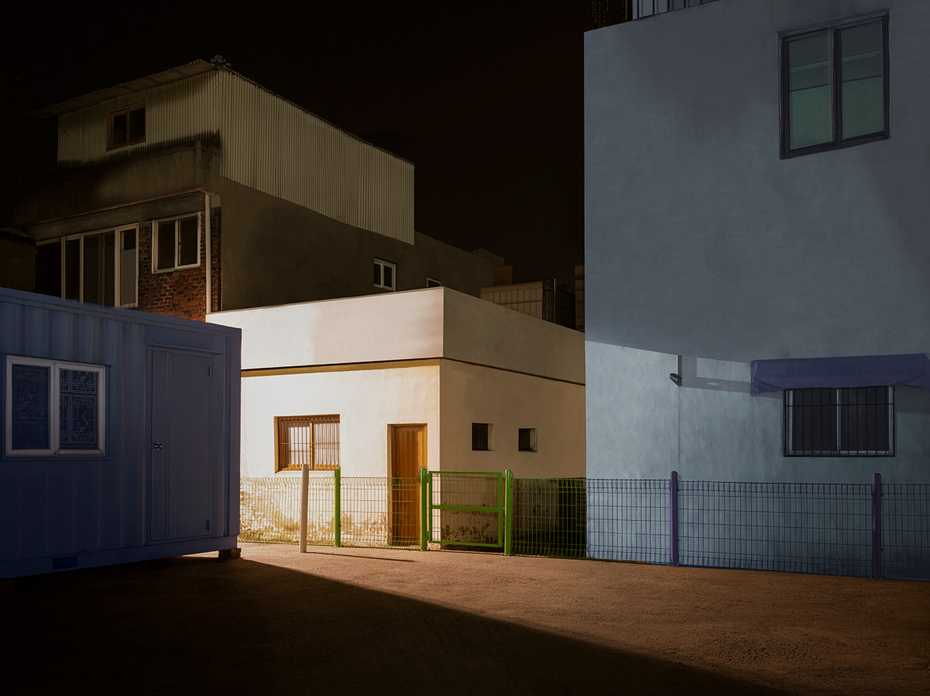 The Houses at Night #52
