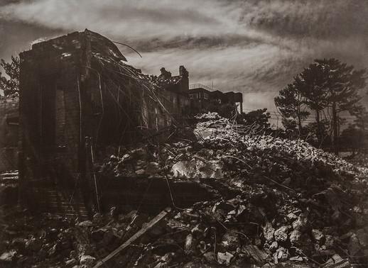 Black House#18_78X106cm_Van Dyke Brown
