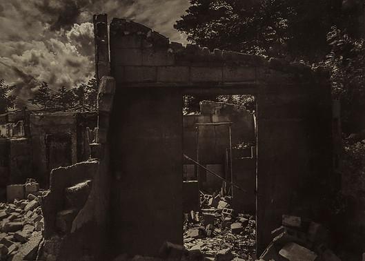 Black House#05_56x76cm_Van Dyke Brown Print, 2019
