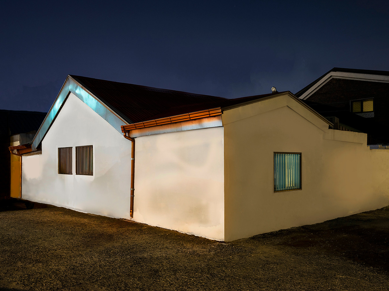 The Houses at Night #01