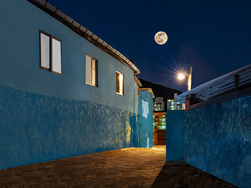 P40_The Houses at Night #61, 2021.jpg