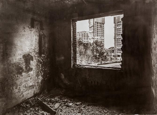 Black House#07_78X106cm_Van Dyke Brown P