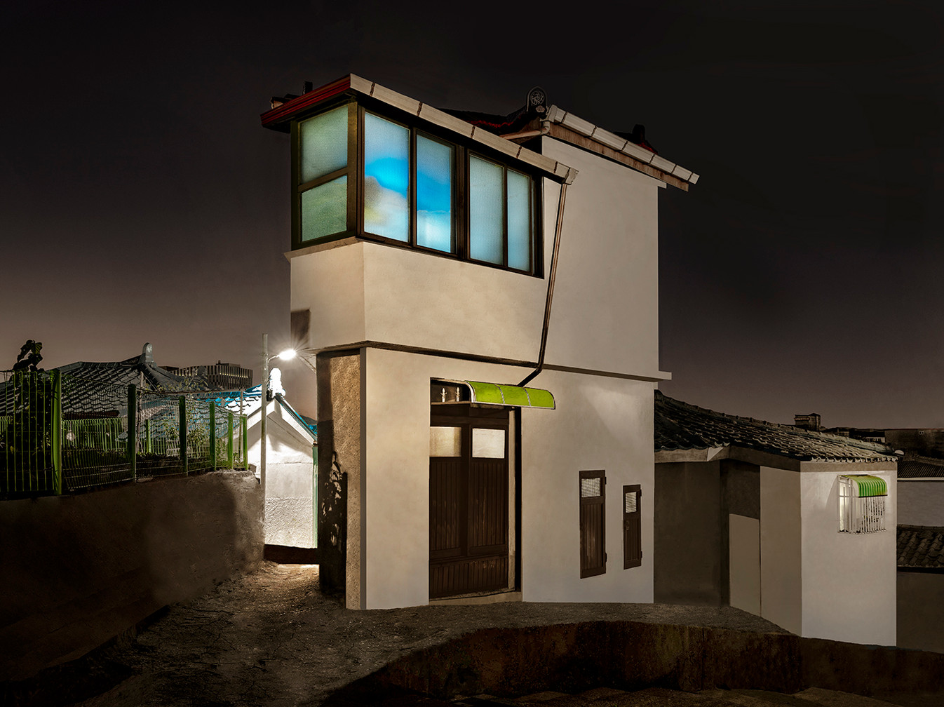 The Houses at Night #46