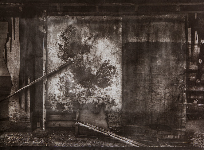 Black House#16_78X106cm_Van Dyke Brown