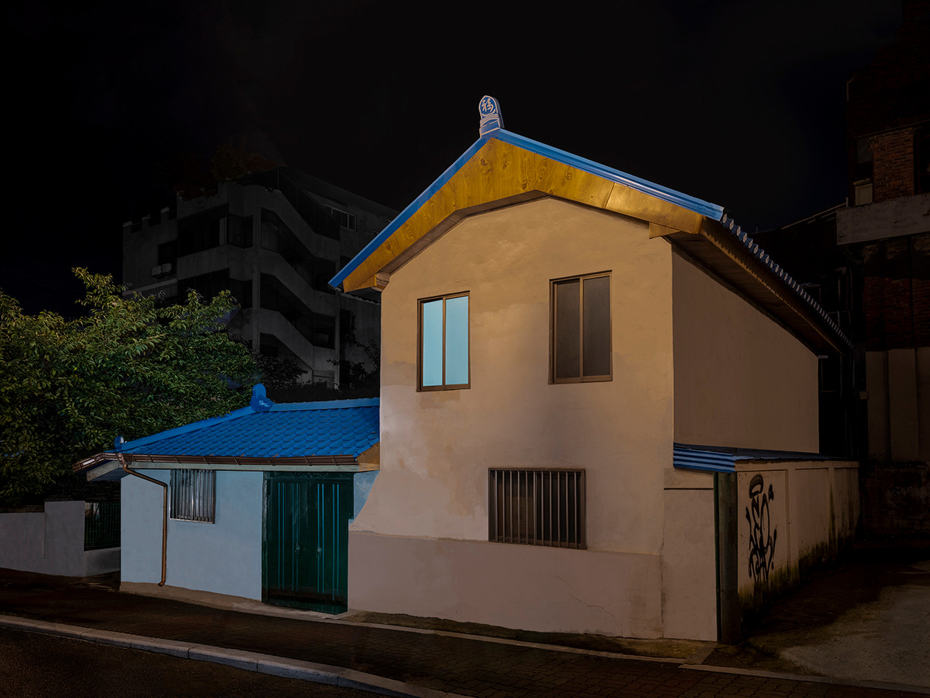 The Houses at Night #49