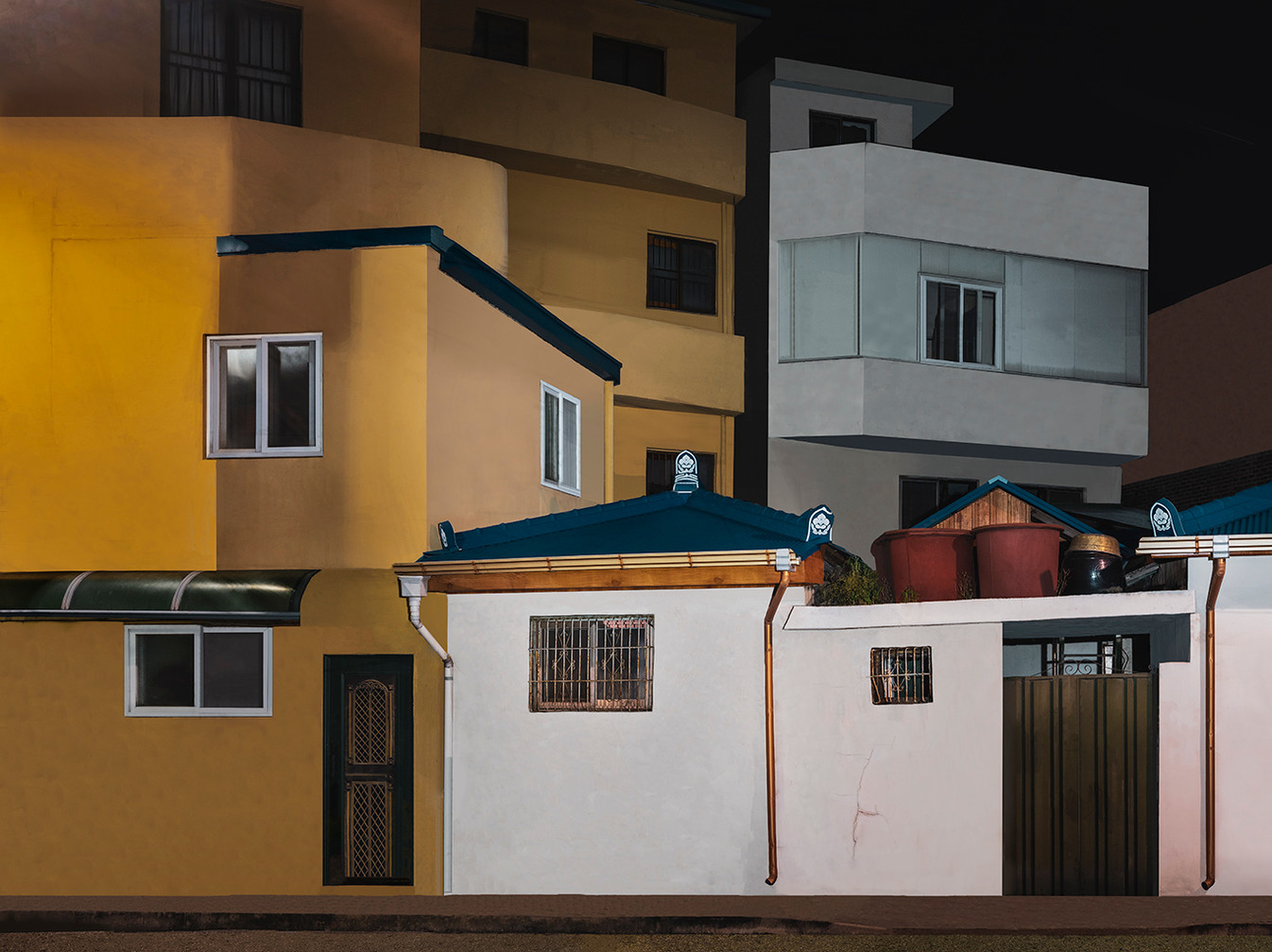 The Houses at Night #22