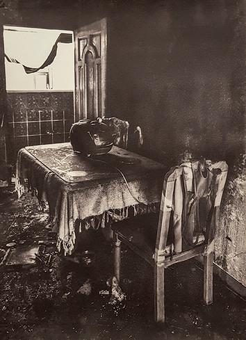 Black House#15_76x56cm_Van Dyke Brown P