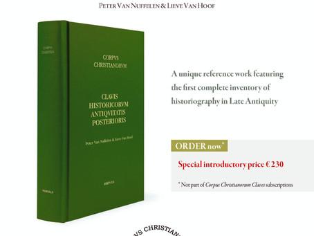 Clavis Historicorum Antiquitatis Posterioris - Introductory price