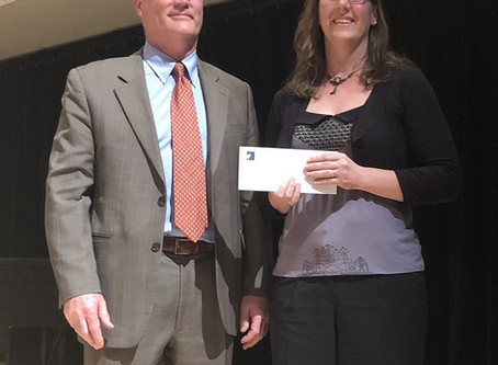 Dr. Gaëlle Rioual awarded CAC prize for best PhD dissertation