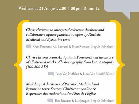 Digital Patristics @ Oxford Patristics Conference