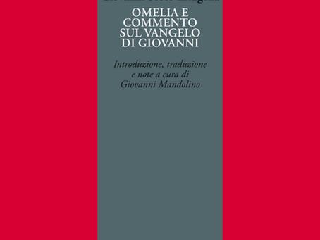 CCT 31 - Giovanni Scoto Eriugena, 'Omelia' e 'Commento' sul vangelo di Giovanni