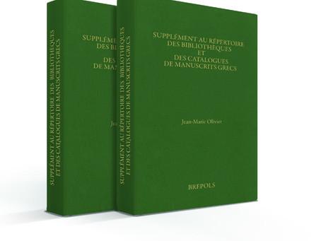 Bibliothèques et catalogues de manuscrits grecs