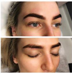 Mircoblading brows