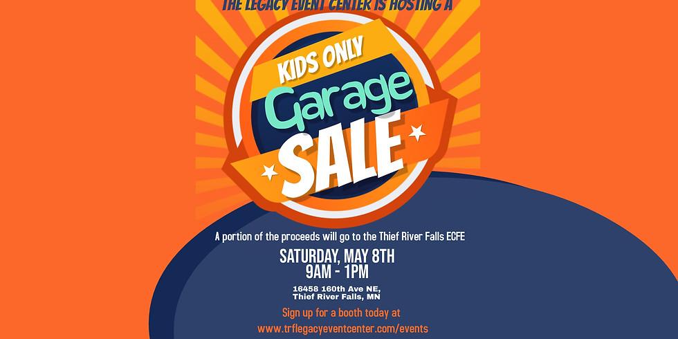 Kids Garage Sale Booth