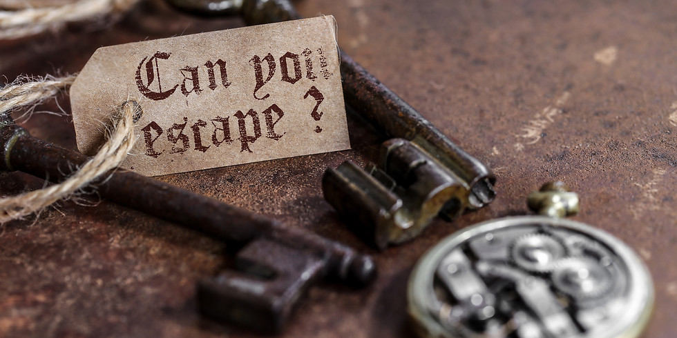 Escape Room Only-3/25/21 5pm-6pm