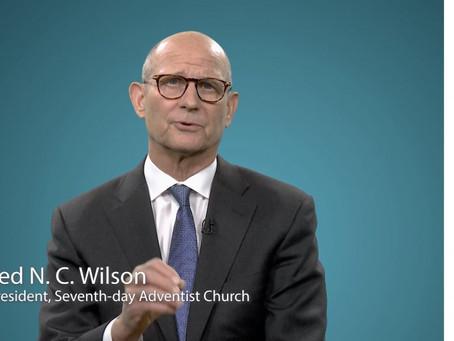 Обращение Теда Вильсона, руководителя Всемирной церкви АСД