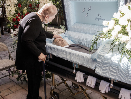 Фотографии с прощальной церемонии