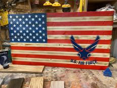 U.S. AIR FORCE AMERICAN FLAG