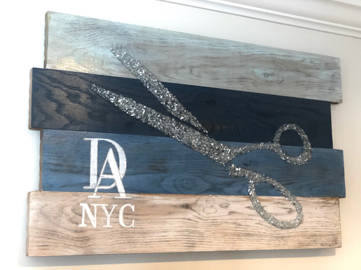 Glass Scissors - DA NYC