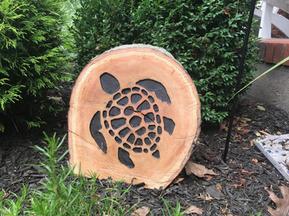 Turtle on Stump