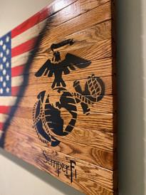 USMC - Marine Corps flag