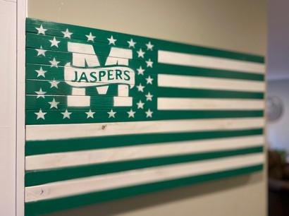 Manhattan Jaspers Flag