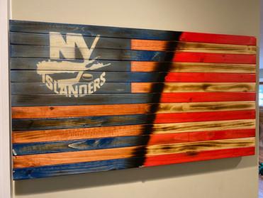 NY Islanders - American Flag