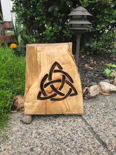 Celtic Garden Stump