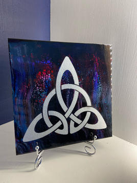 Celtic Trinity Acrylic