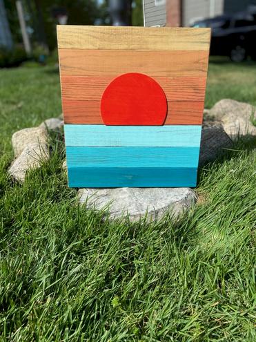 Geometric Sunrise