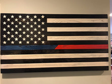 Thin Blue-Red Line