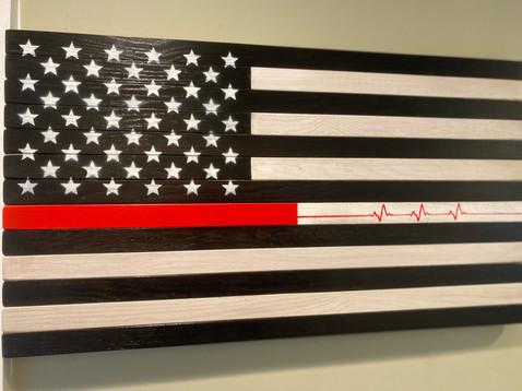 Black & White - Still Beating Flag (fron