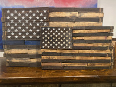 Whiskey Barrel Flags (medium and large)