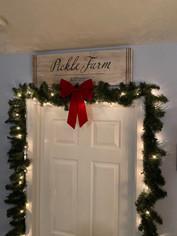 Pickle Farm Doorway Sign