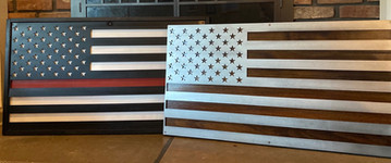 Steel Flags - FD and US