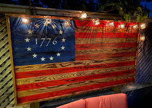 Betsy Ross Oversized Patio Flag