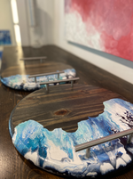 Ocean-Inspired Decorative Trays
