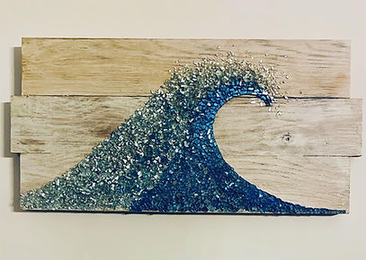 Crushed Glass Wave