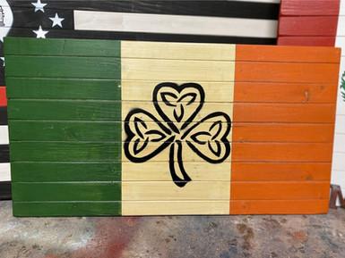 Celtic Shamrock Irish Flag