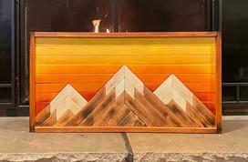 Warm Mountain Art