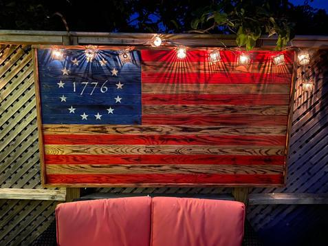Oversized 1776 Betsy Ross Flag