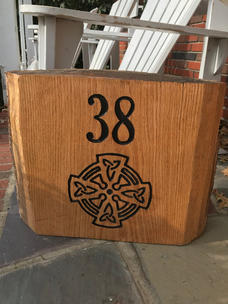 Celtic Knot & House Number